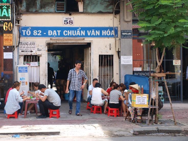 Knajpa w Sajgonie