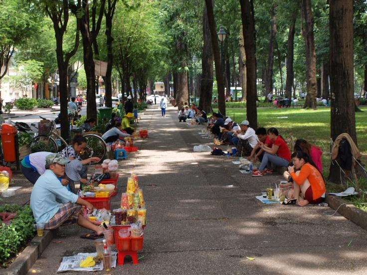 Park w Sajgonie
