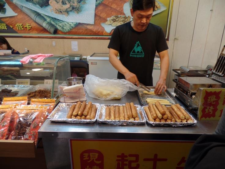 Jedzenie w Jiufenie
