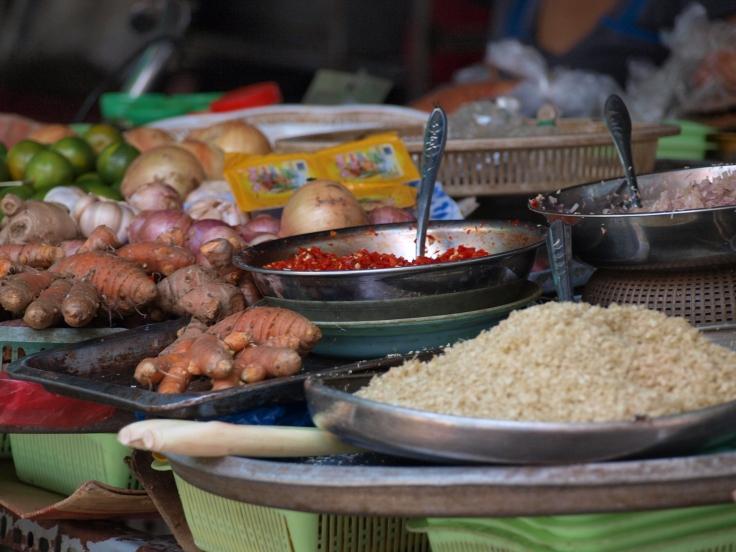 Targ w Sajgonie