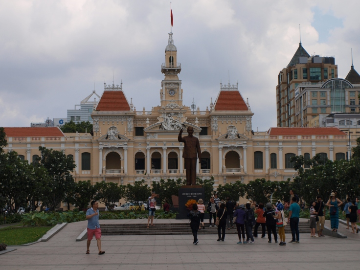 Urząd miasta, Sajgon