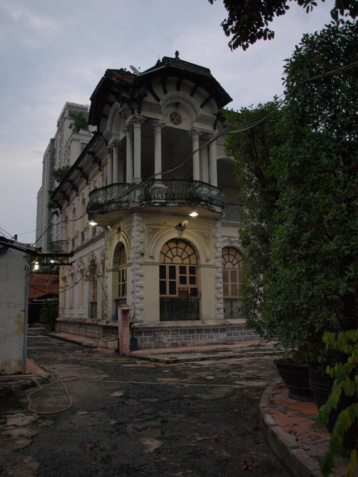 Dom w stylu kolonialnym, Sajgon