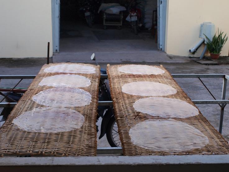 Papier ryżowy, delta Mekongu