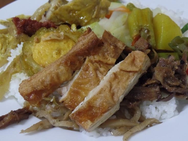 W restauracji wegetariańskiej, Vinh Long