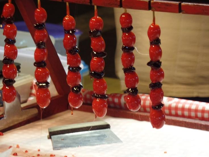 Lizaki z pomidorków