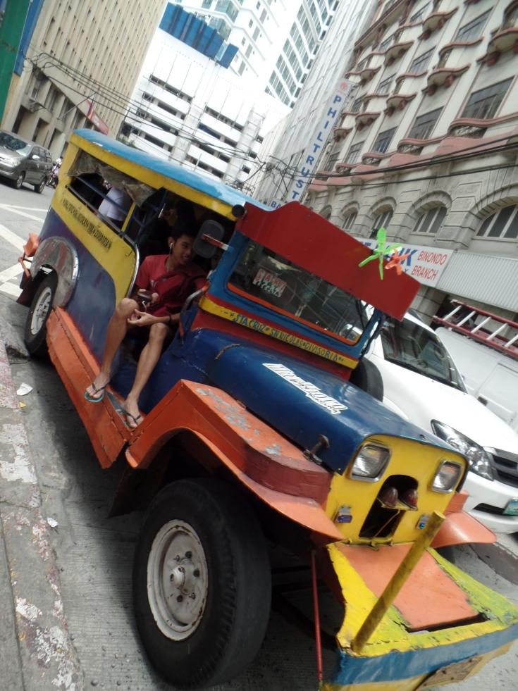 Jeepney w Manili