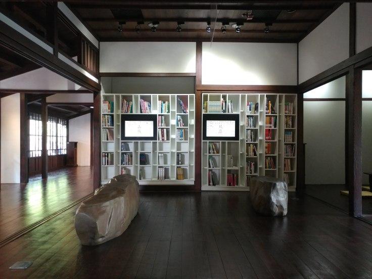 Biblioteka w Muzeum Literatury w Taichungu.