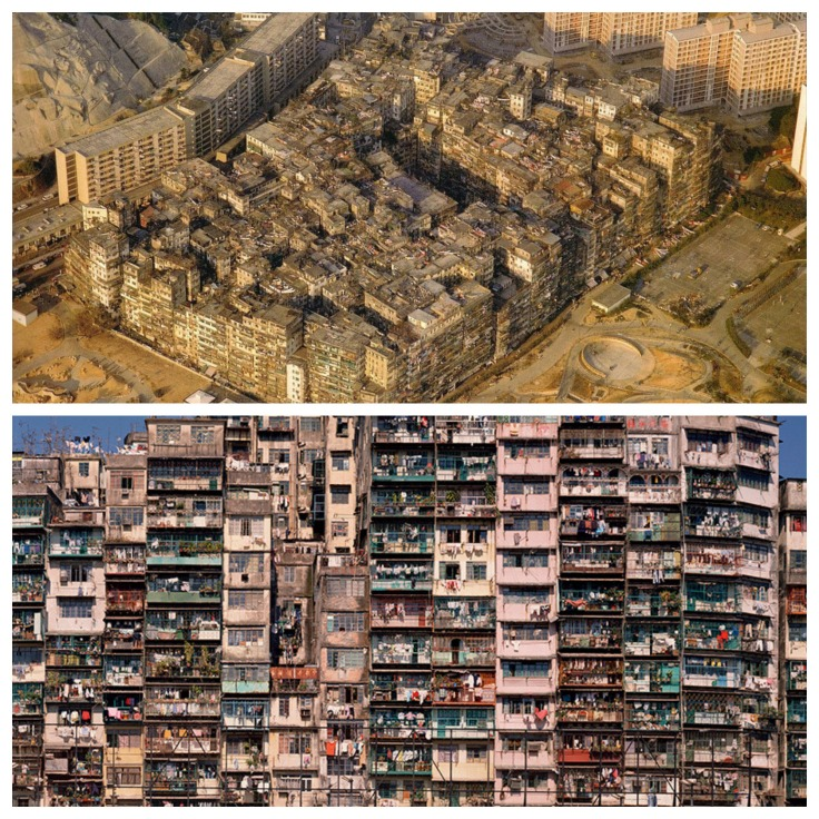 Untitled collageKowloon Walled City