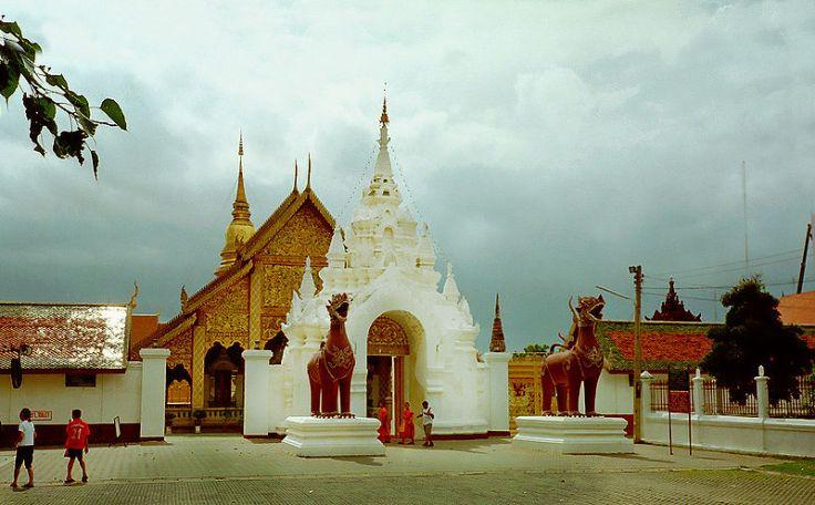 Wat Phrathat Hariphunchai, Lamphun, Tajlandia
